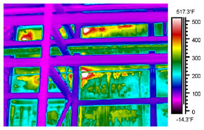 thermal imaging of boilers